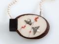 Necklace 2 Birds / Két madár nyaklánc