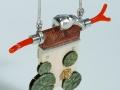 Necklace Kingfisher / Jégmadár nyaklánc