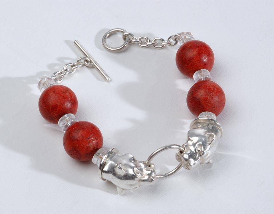 Bracelet Red Lion