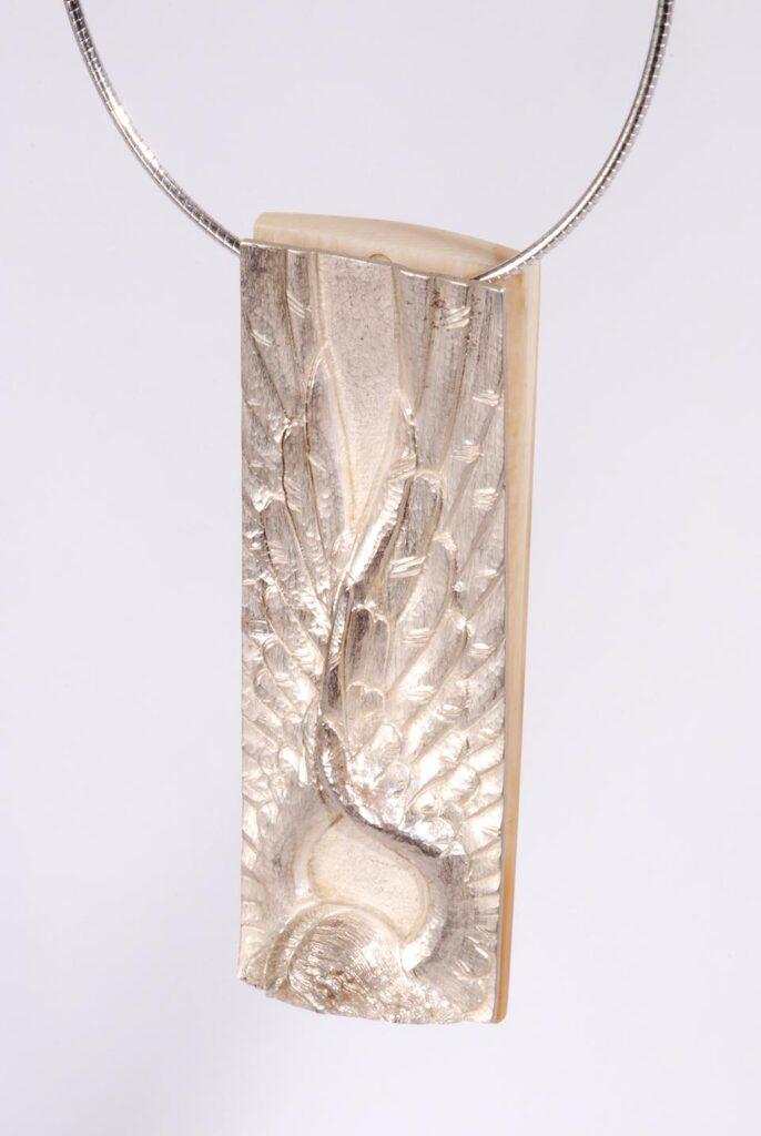 Ezüst angyal nyaklánc