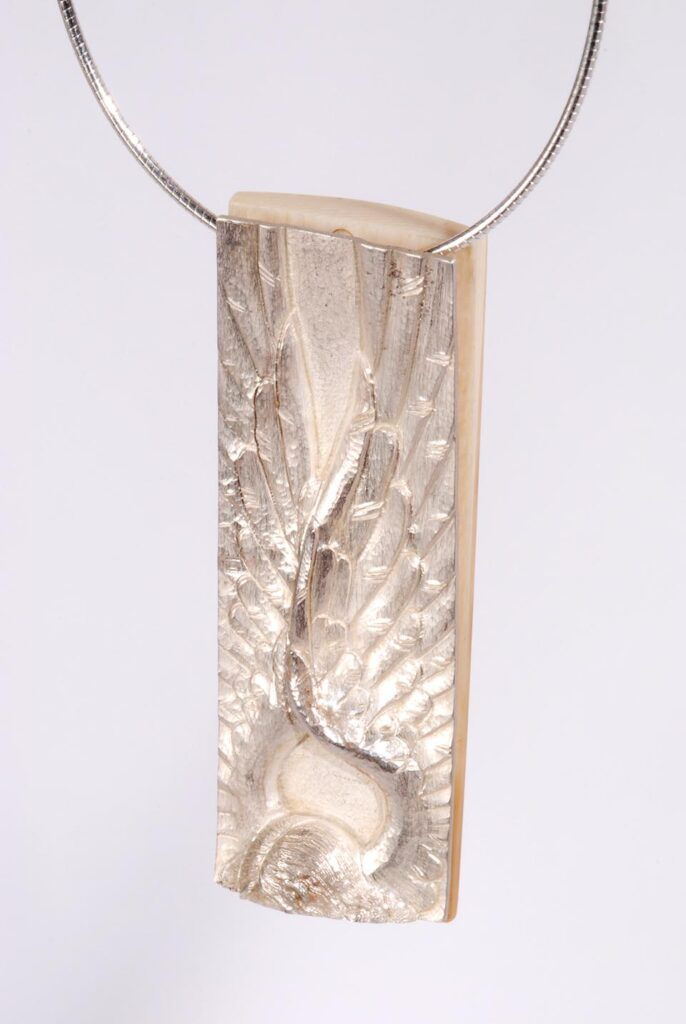 Necklace Silver Angel