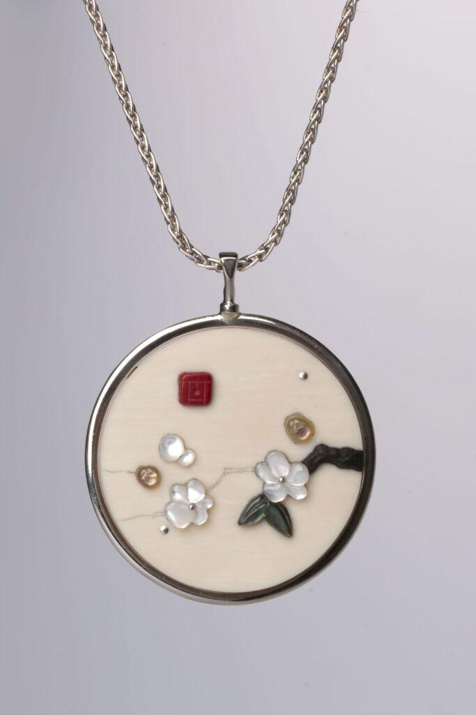 Round Shiba Necklace